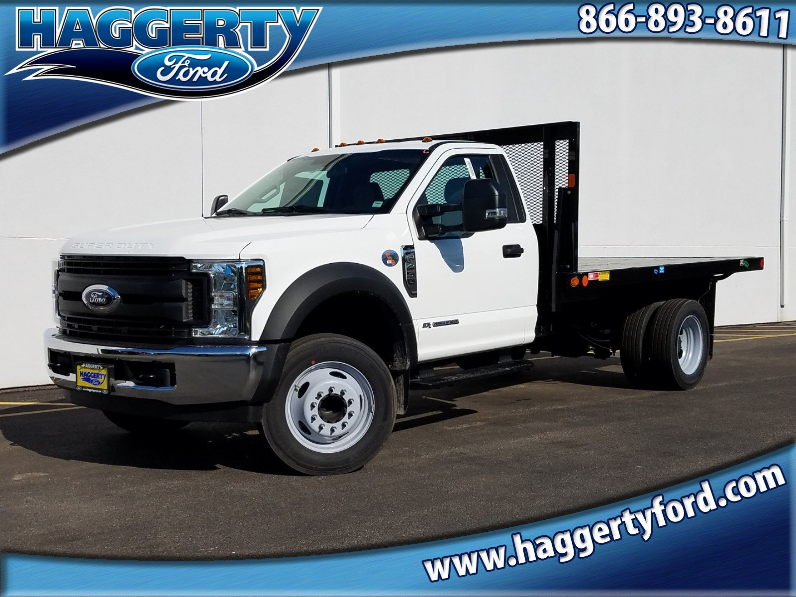 New 2019 Ford Super Duty F-450 DRW XL W/ Versa-Line 12 FT. Platform Body