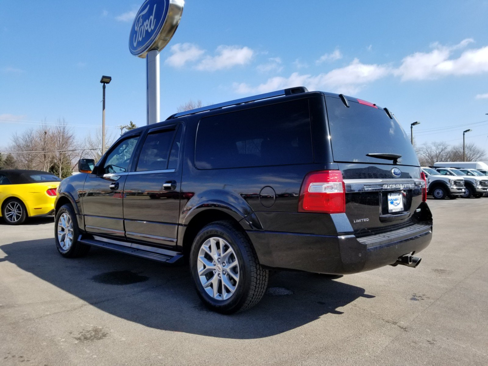 Certified Pre-Owned 2016 Ford Expedition EL Limited 4WD