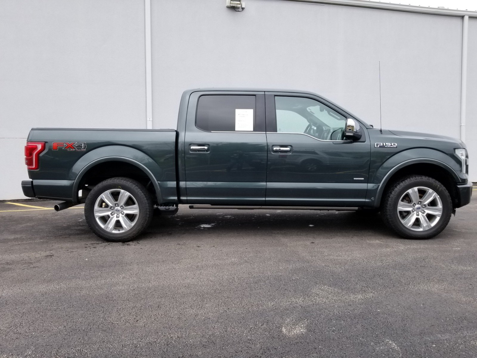 Certified Pre-Owned 2015 Ford F-150 Platinum 701A Ecoboost Crew
