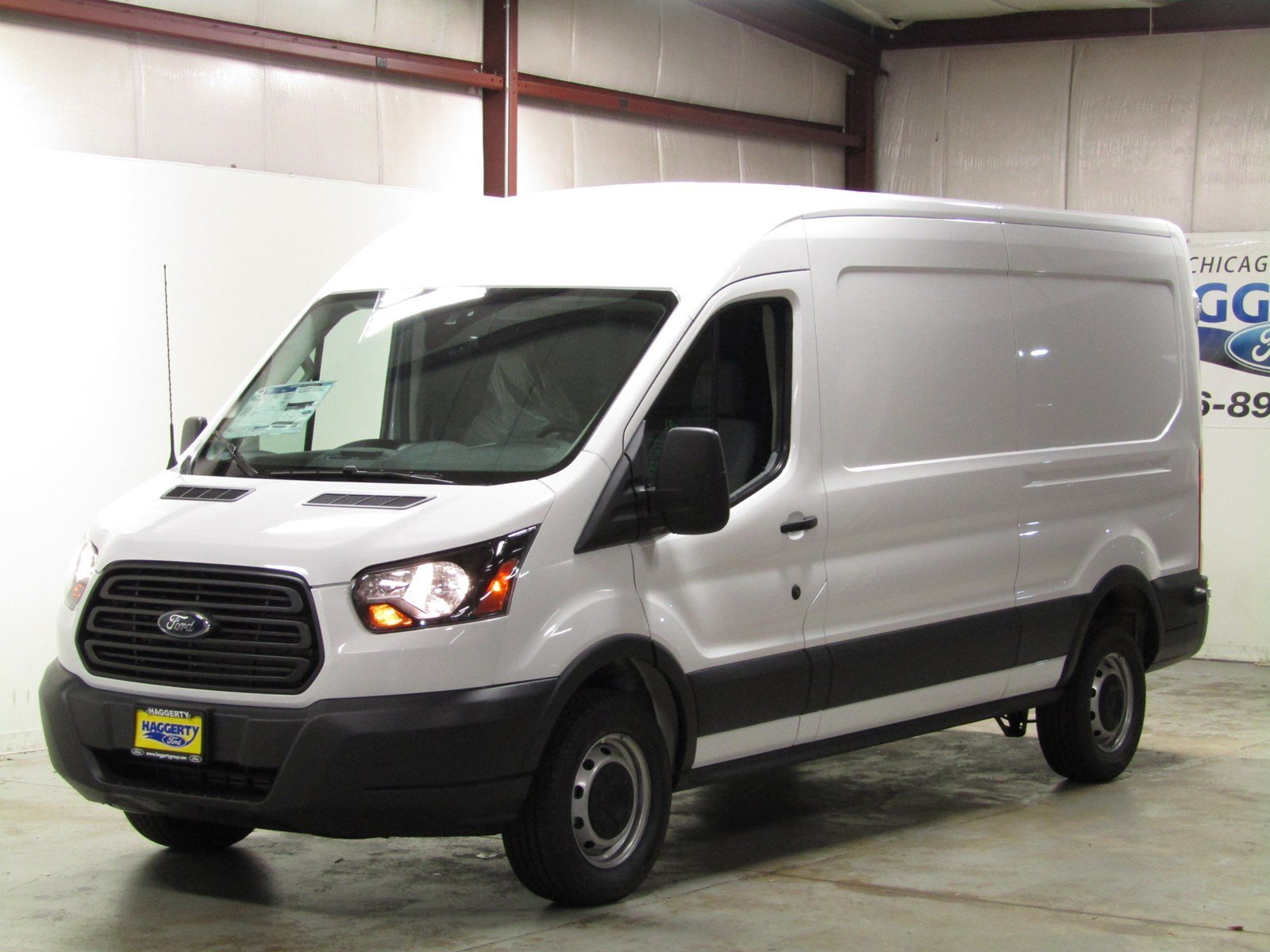 New 2018 Ford Transit Van 250 MR Cargo Van