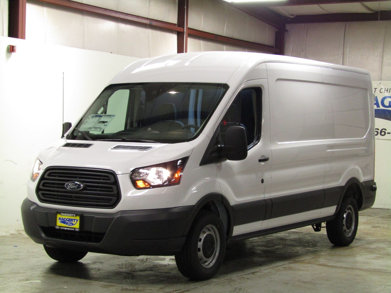 New 2018 Ford Transit Van 250 MR