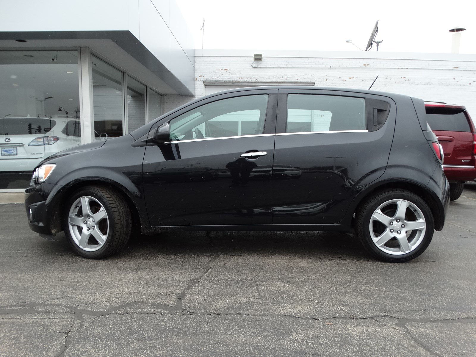Certified Pre-Owned 2015 Chevrolet Sonic LTZ