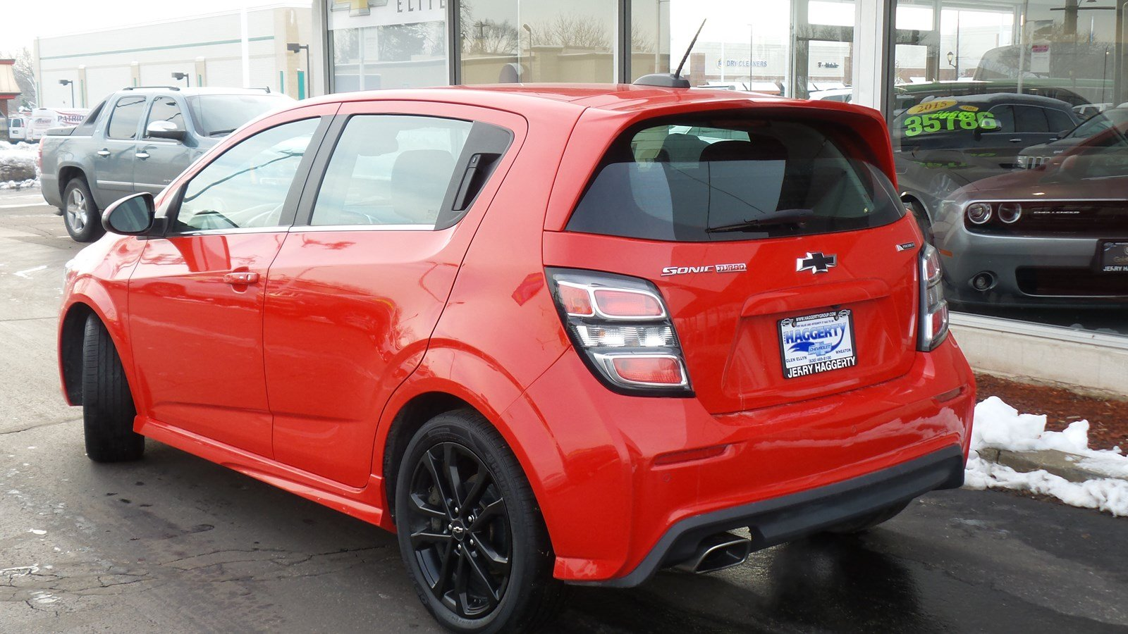 Certified Pre-Owned 2018 Chevrolet Sonic Premier