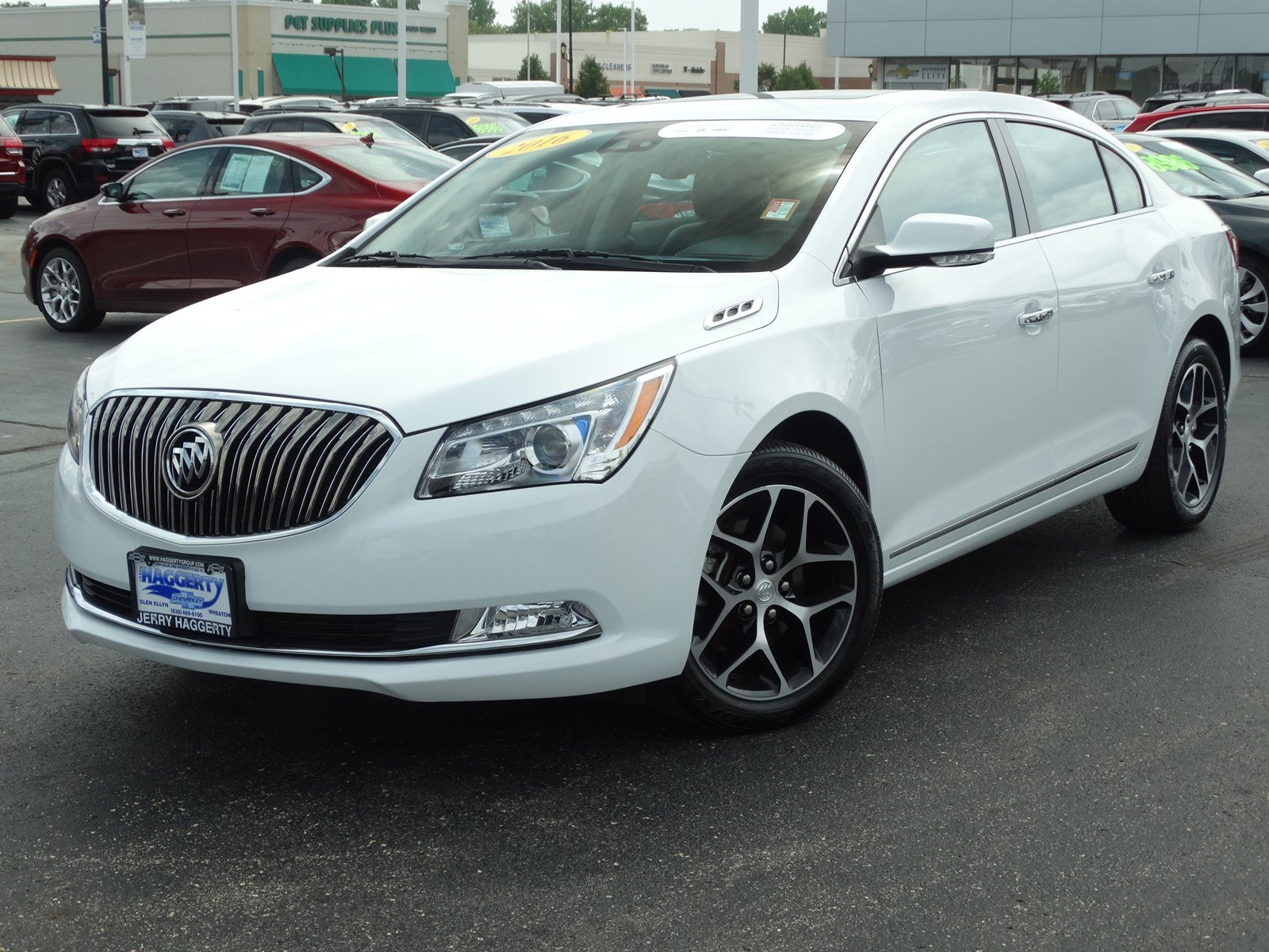 Certified Pre-Owned 2016 Buick LaCrosse Sport Touring