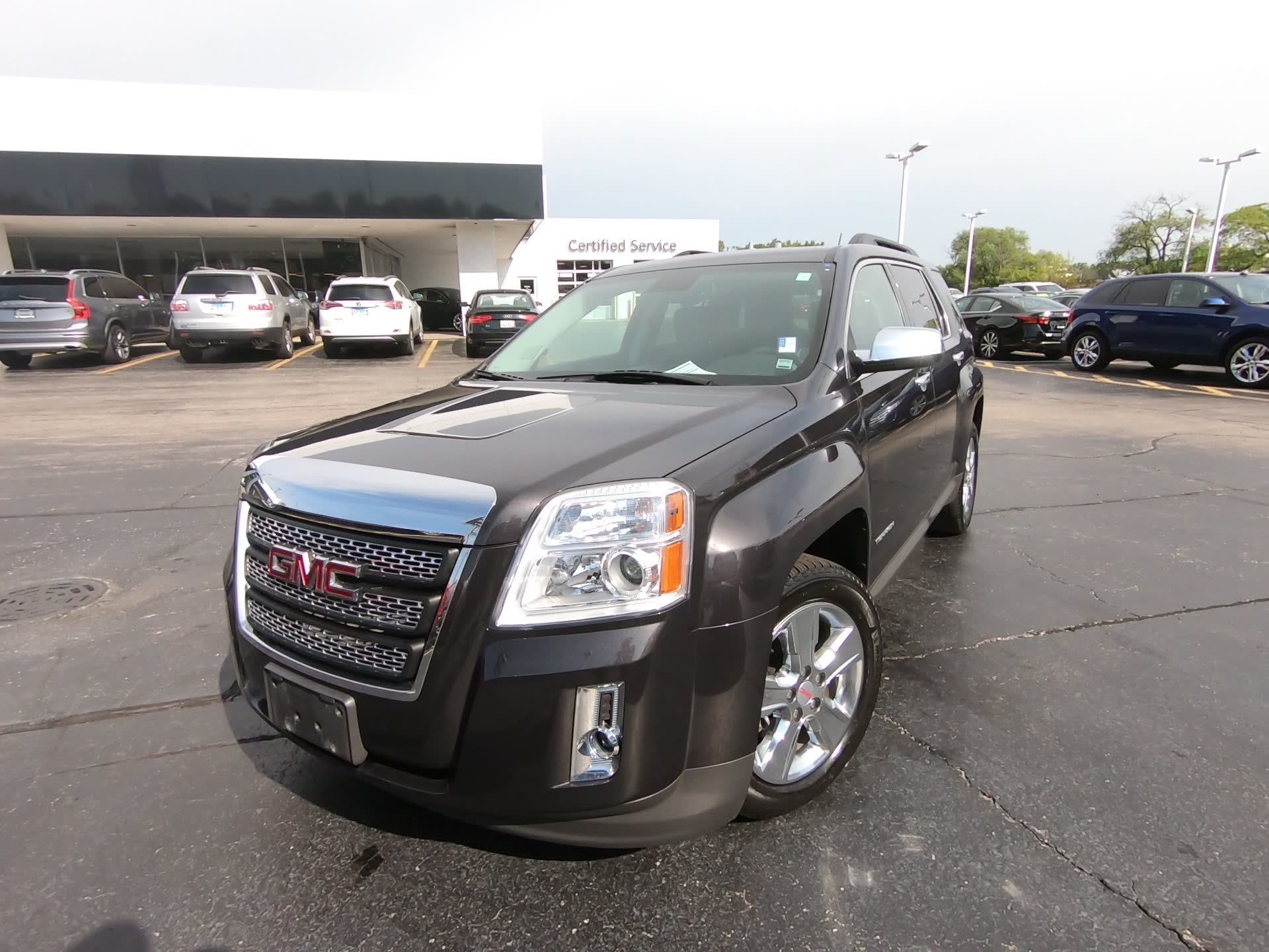 Certified Pre-Owned 2015 GMC Terrain SLT