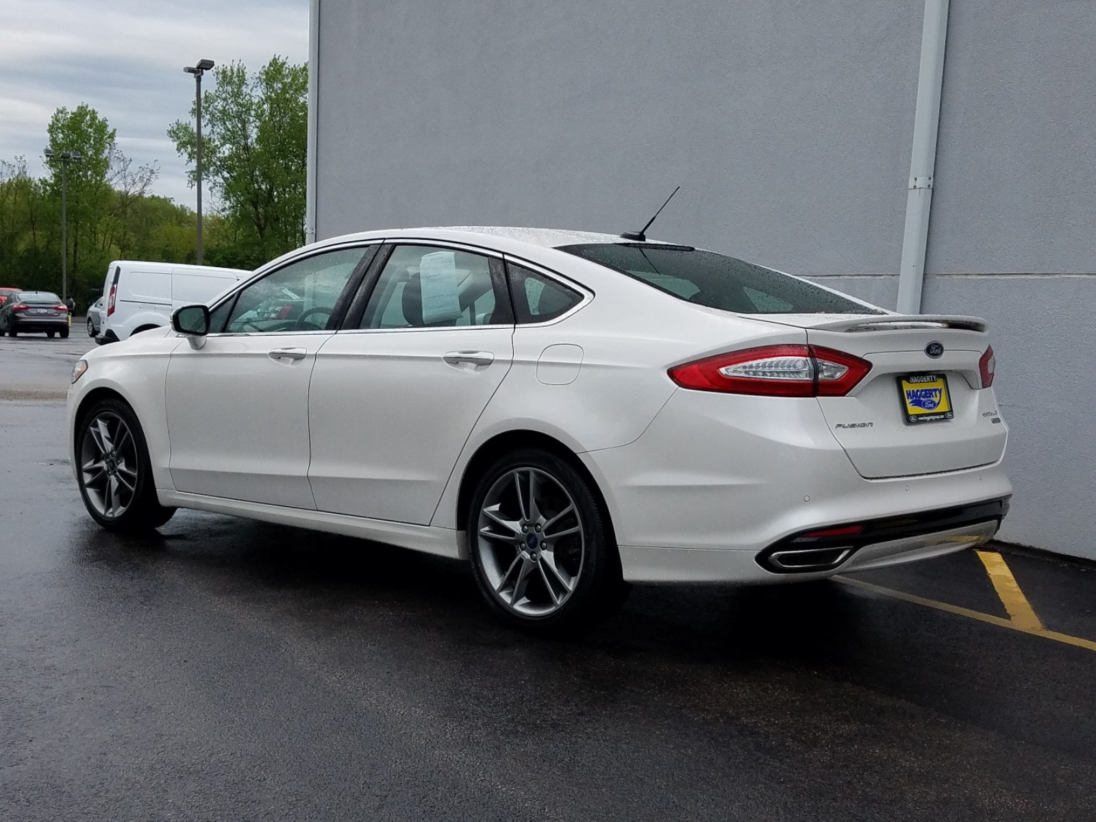 Certified Pre-Owned 2016 Ford Fusion Titanium
