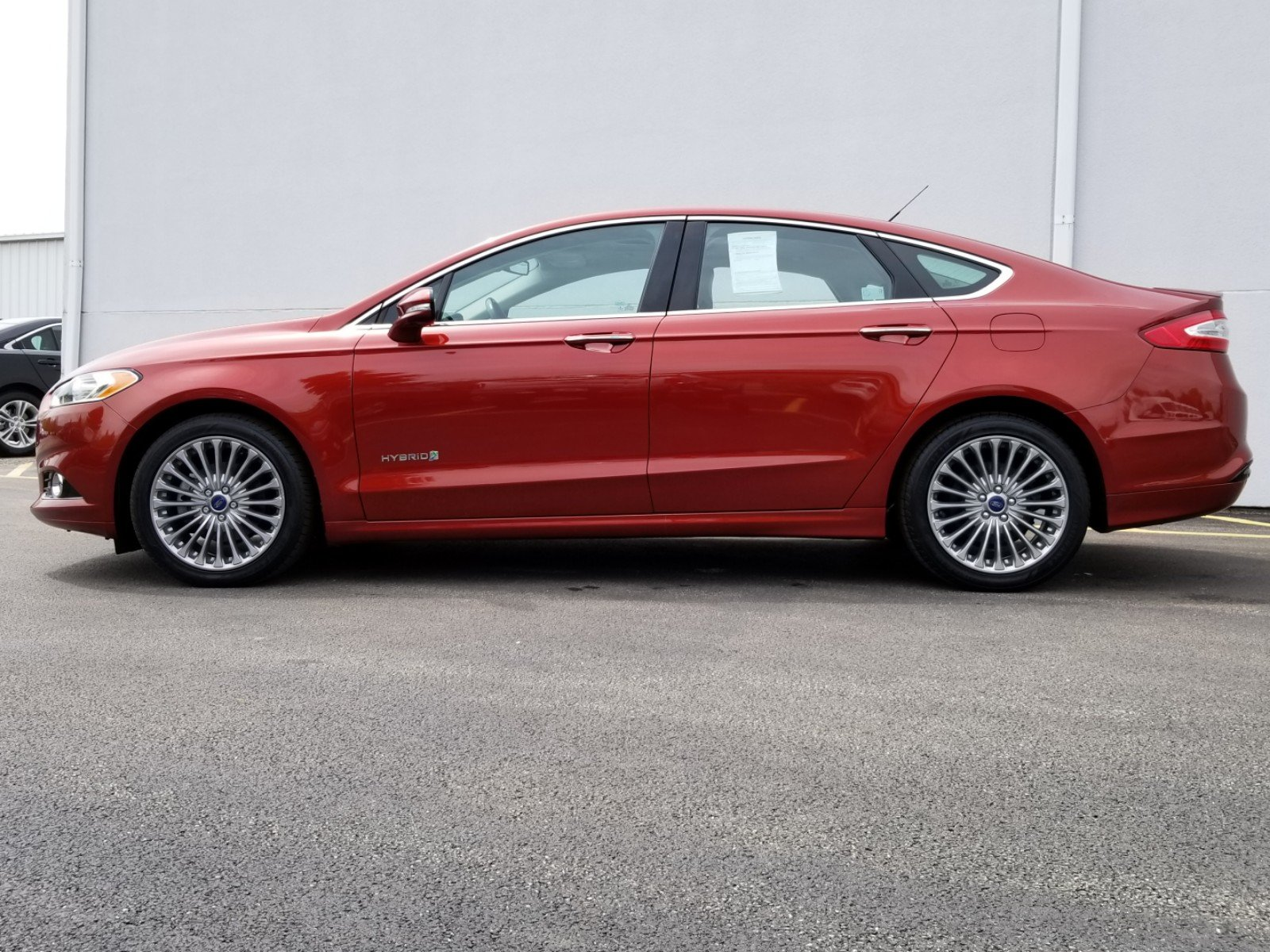 Certified Pre-Owned 2014 Ford Fusion Titanium Hybrid