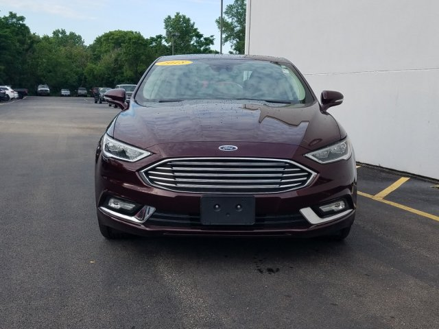 Certified Pre-Owned 2018 Ford Fusion Hybrid Titanium