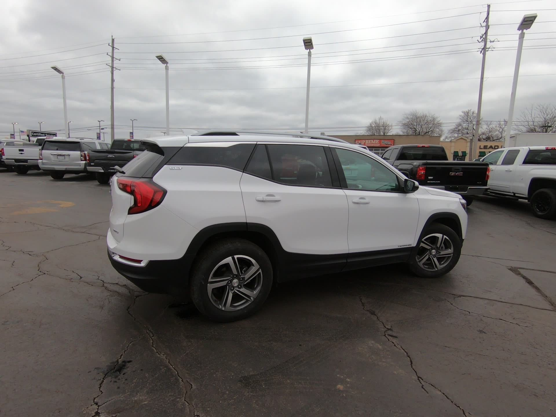 Certified Pre-Owned 2020 GMC Terrain SLT