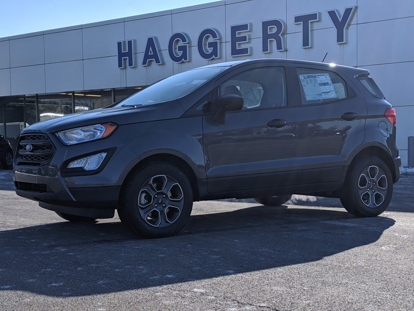 New 2020 Ford EcoSport