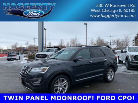Certified Pre-Owned 2017 Ford Explorer Limited 4WD