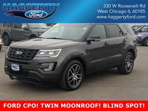 Certified Pre-Owned 2017 Ford Explorer Sport 4WD