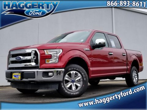 Pre-Owned 2017 Ford F-150 XLT 4WD V8