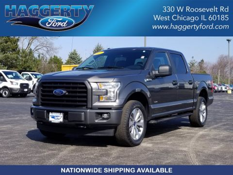 Certified Pre-Owned 2017 Ford F-150 XL 4WD