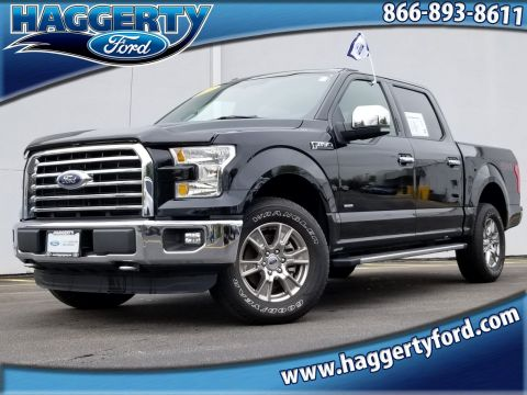 Certified Pre-Owned 2016 Ford F-150 XLT Crew Cab