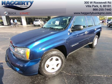 Pre-Owned 2002 Chevrolet TrailBlazer LS 4WD