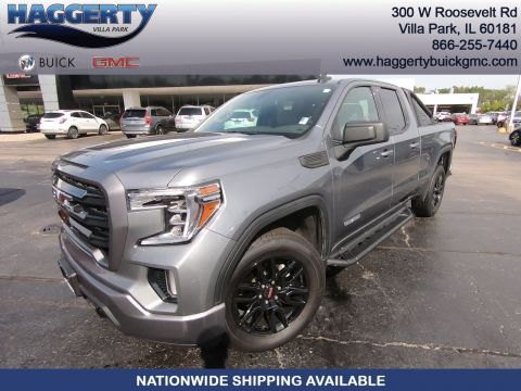 Certified Pre-Owned 2019 GMC Sierra 1500 4WD Double Cab 147 Elevation