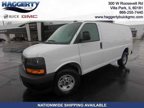 New 2020 GMC Savana Cargo Van CARGO