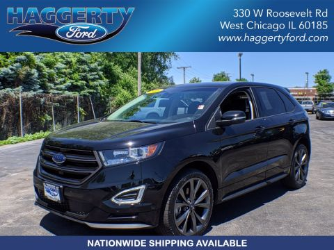 Certified Pre-Owned 2018 Ford Edge Sport AWD