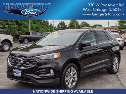Certified Pre-Owned 2019 Ford Edge Titanium AWD