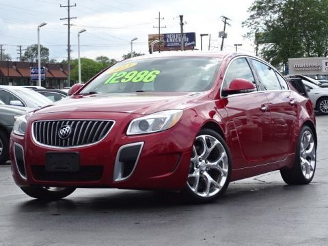 Pre-Owned 2013 Buick Regal GS