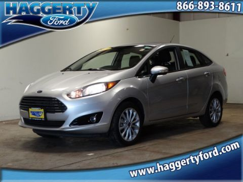 Certified Pre-Owned 2018 Ford Fiesta Titanium